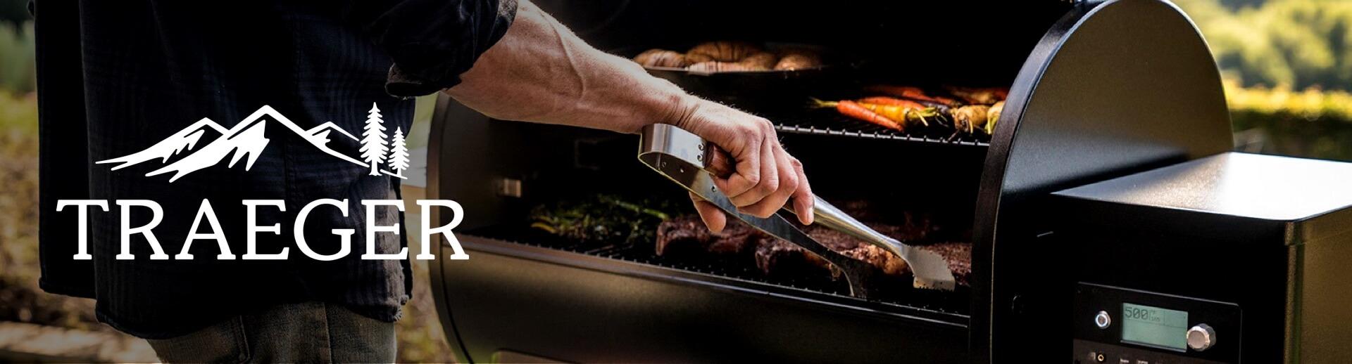 traeger grills banner image