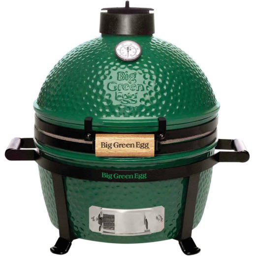 Big Green Egg MiniMax Ceramic Charcoal Grill with Carrier