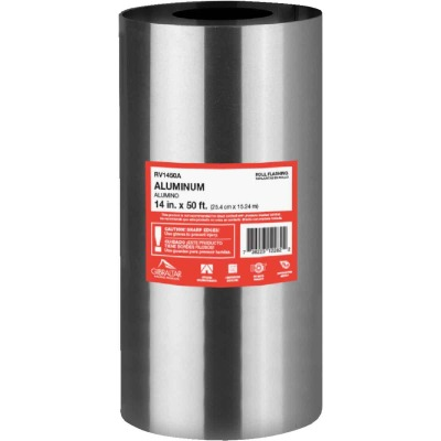 NorWesco 14 In. x 50 Ft. Mill Aluminum Roll Valley Flashing