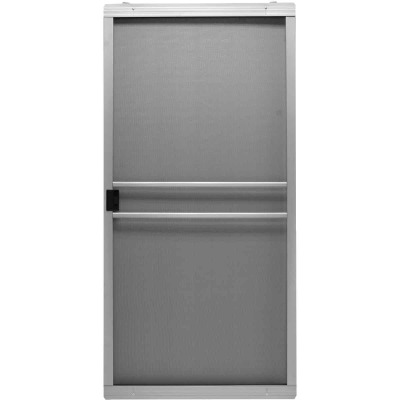 Precision Branson 48 In. Gray Steel Replacement Patio Door Screen
