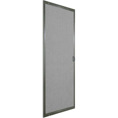 Precision Breezeway 36 In. Gray Steel Replacement Patio Door Screen