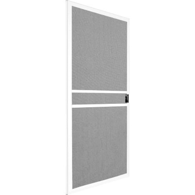 Precision Branson 48 In. White Steel Replacement Patio Door Screen