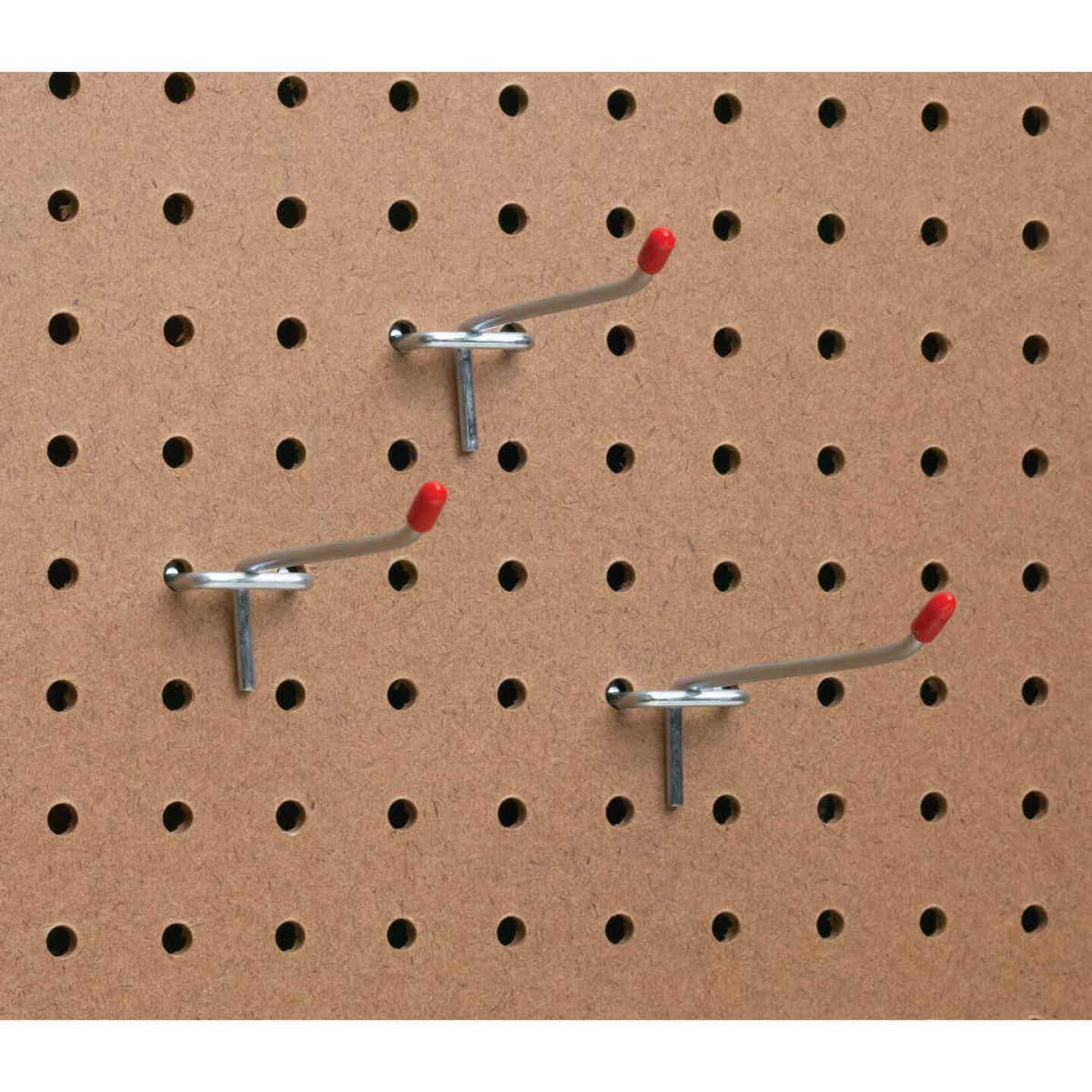 4 In. Light Duty Safety Tip Straight Pegboard Hook (3-Count) Image 3