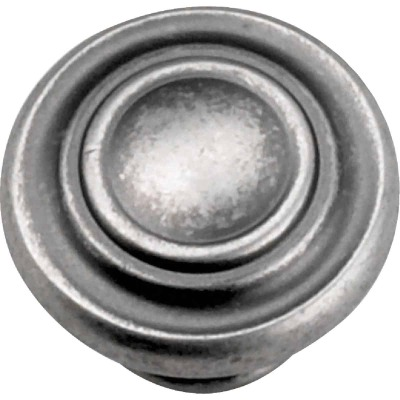 Laurey Windsor Antique Pewter 1-3/8 In. Cabinet Knob