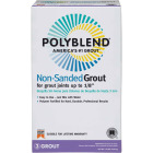Custom Building Products Polyblend 10 Lb. Bright White Non-Sanded Tile Grout Image 1