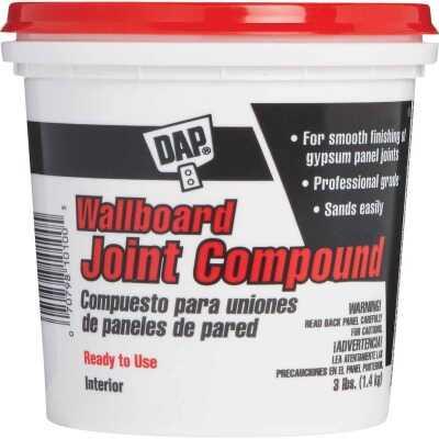 Dap 3 Lb. Pre-Mixed Latex Wallboard Drywall Joint Compound