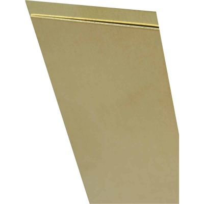 K&S 4 In. x 10 In. x .005 In. Brass Sheet Stock