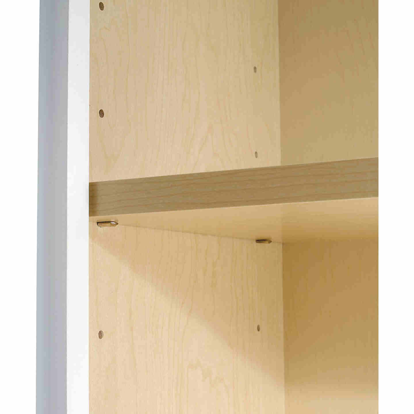 Continental Cabinets Andover Shaker 36 In. W x 30 In. H x 12 In. D White Thermofoil Wall Kitchen Cabinet Image 5