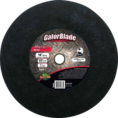 Gator Blade Type 1 14 In. x 3/32 In. x 1 In. Metal Cut-Off Wheel