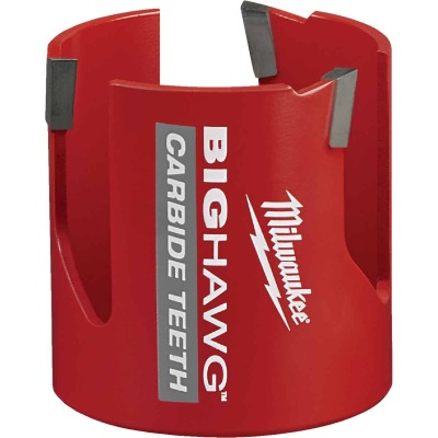 Milwaukee Big Hawg 2-9/16 In. Carbide-Tipped Hole Saw