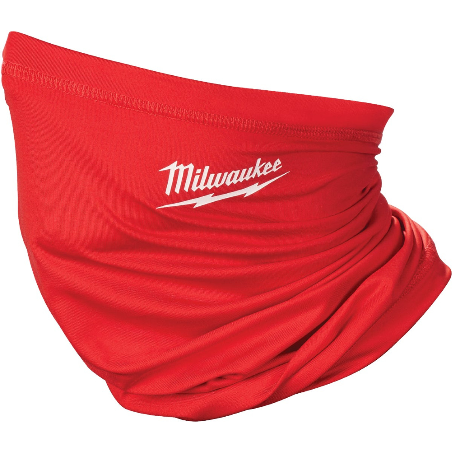 Milwaukee Washable Neck Gaiter, Red Image 1