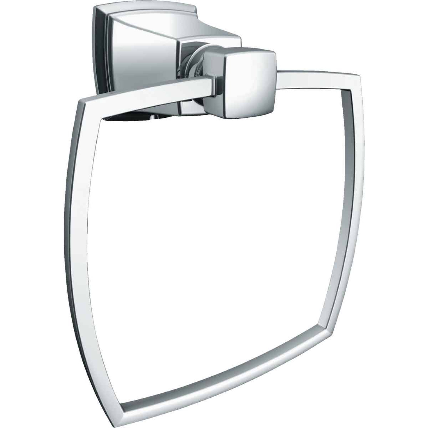 Moen Chrome 5.1 In. Towel Ring Image 1