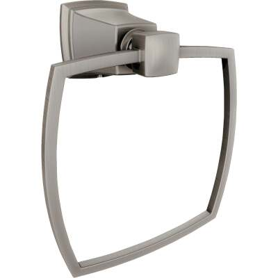 Moen Brushed Nickel 5.1 In. Towel Ring