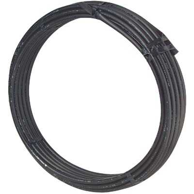 Cresline 1-1/2 In. X 100 Ft. Spartan Black Plastic Pipe