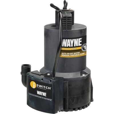Wayne 1/4 HP Submersible Energy Efficient Automatic Sensor Utility Pump