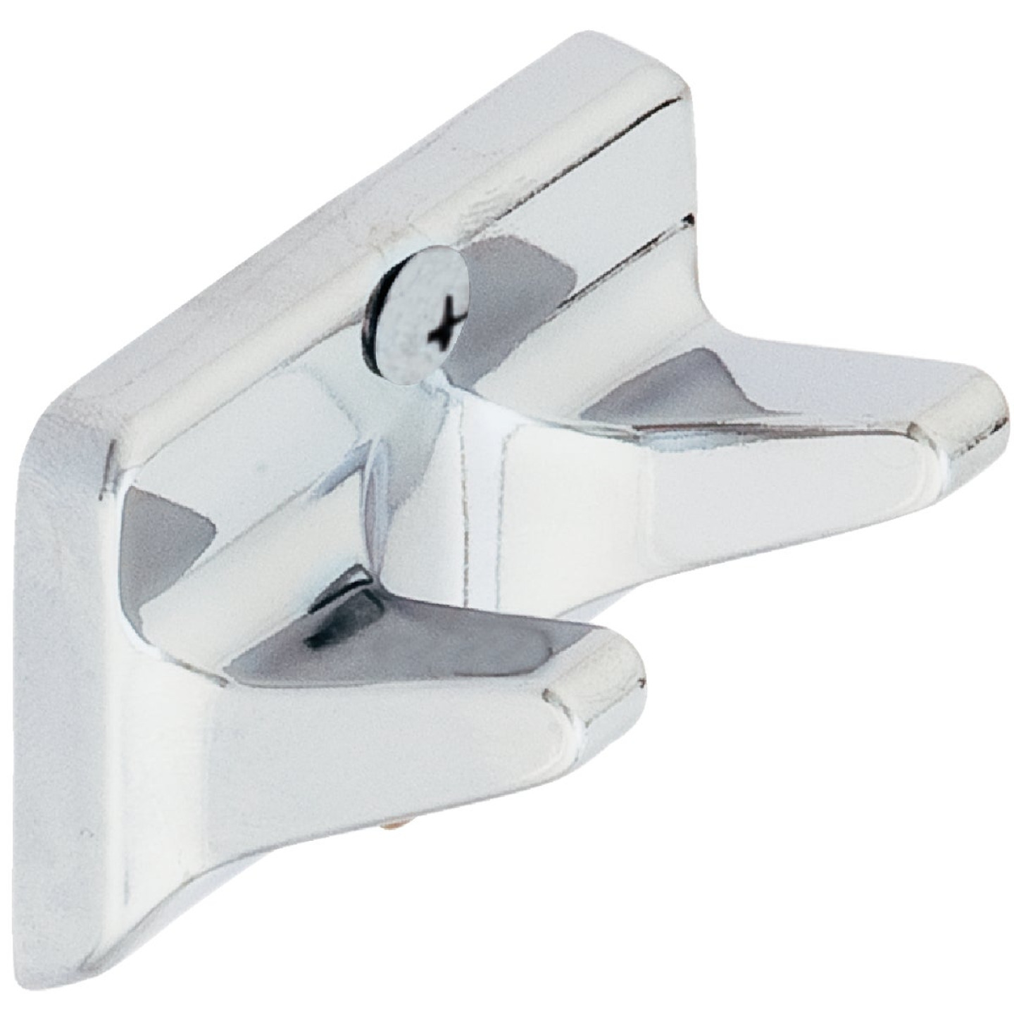 Home Impressions Chrome Double Robe Hook Image 1