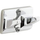 Home Impressions Chrome Double Robe Hook Image 3