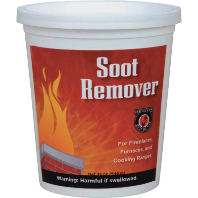 Meeco's Red Devil Quart Powdered Soot Remover