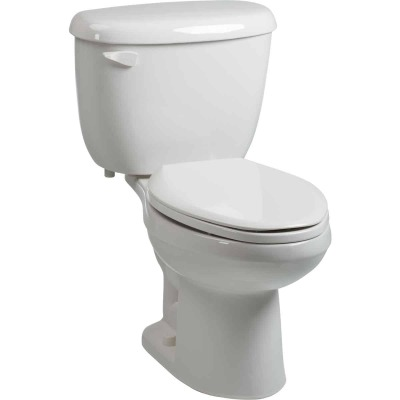 Briggs Altima White Elongated Bowl 1.6 GPF Toilet Express