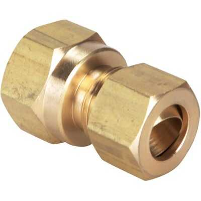 Do it 3/8 In. x 3/8 In. Brass Union Compression Adapter