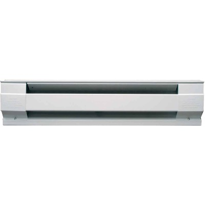 Cadet 36 In. 750-Watt 240-Volt Electric Baseboard Heater, White