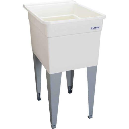 Mustee Liltub Utilitub 15 Gallon 18 In. W x 24 In. L Laundry Tub