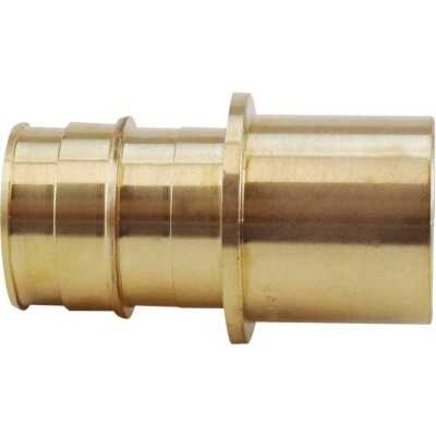 Apollo Retail 1 In. Barb x 1 In. Male Sweat Brass PEX Adapter Type A