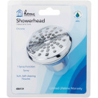 Home Impressions 1-Spray 1.8 GPM Fixed Showerhead, Chrome Image 2