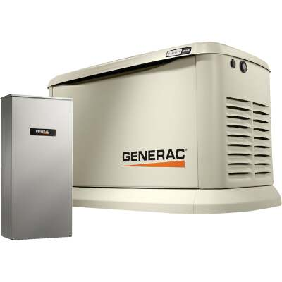 Generac Guardian WiFi 19,500W Natural Gas/22,000W LP Home Standby Generator with 200A Automatic Transfer Switch
