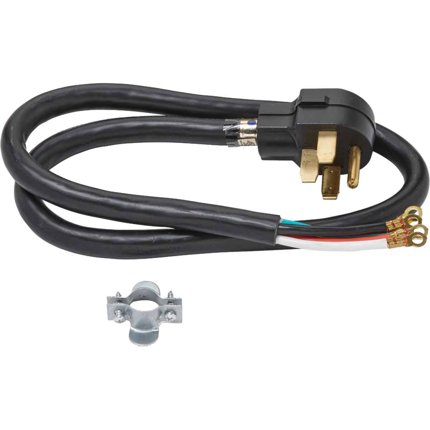 Do it Best 4 Ft. 6/2 + 8/2 Ga. 4-Conductor Range Cord Image 2