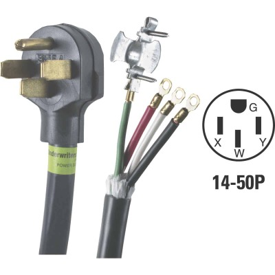 Do it 6 Ft. 6/2 + 8/2 Ga. 4-Conductor Range Cord
