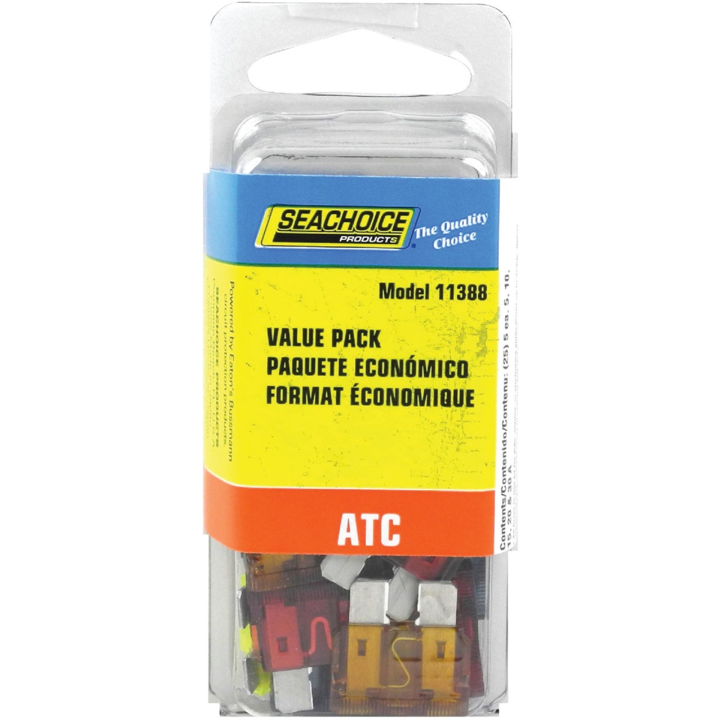 Seachoice Marine ATC Blade Fuse Assortment (25-Pack) Image 1