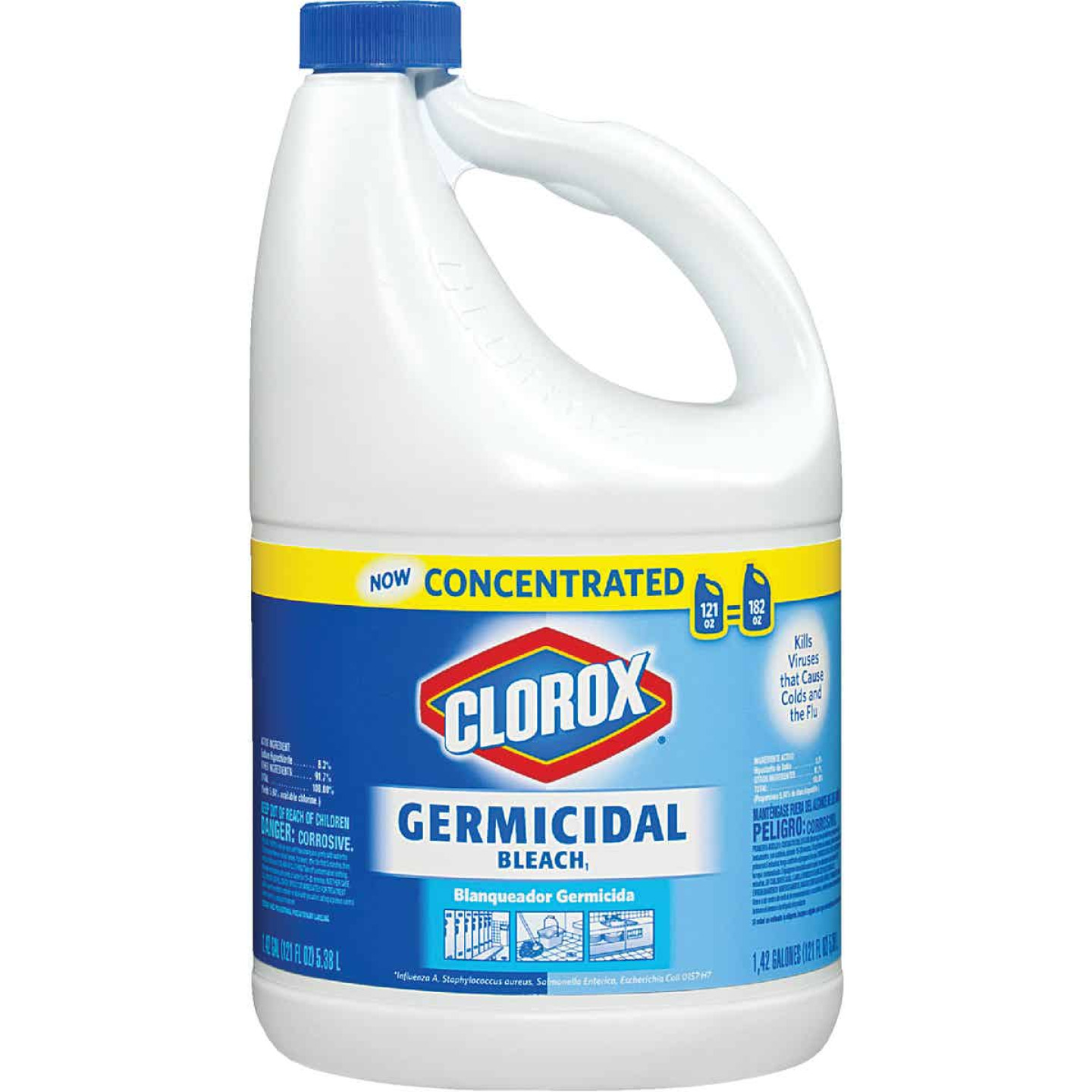 Clorox 121 Oz. Concentrated Germicidal Bleach Image 1