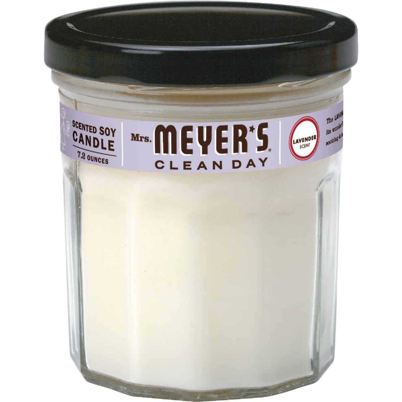 Mrs Meyer's Clean Day 7.2 Oz. Lavender Jar Candle Image 1