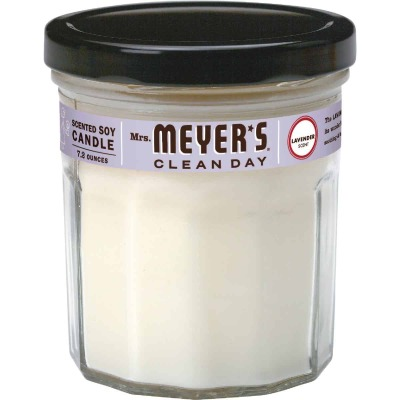 Mrs Meyer's Clean Day 7.2 Oz. Lavender Jar Candle