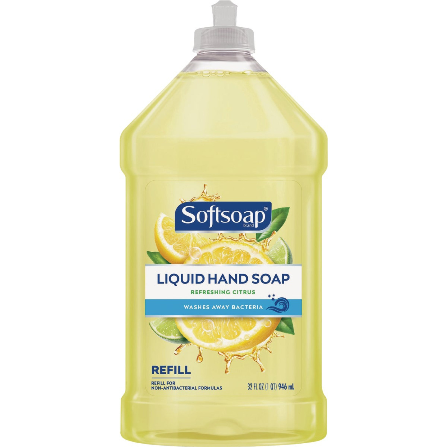 Softsoap 32 Oz. Fresh Citrus Liquid Hand Soap Refill Image 1