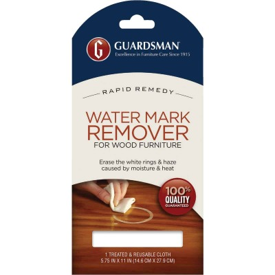 Guardsman Water Mark Remover Cloth for Wood Furniture