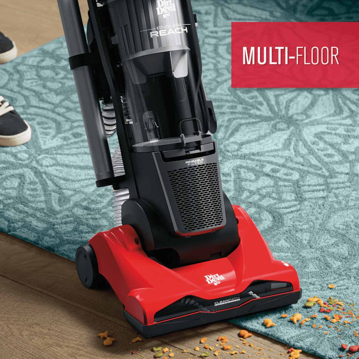 Dirt Devil Endura Reach Compact Upright Vacuum Image 2