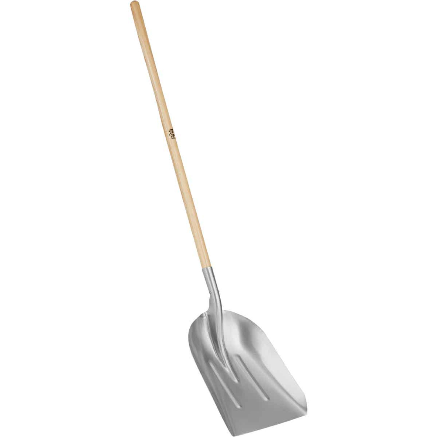 Do it Best 45 In. Wood Handle Aluminum Scoop Shovel Image 1