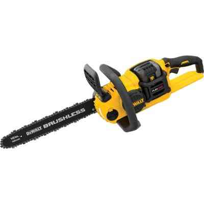 DeWalt Flexvolt 16 In. 60V MAX Lithium Ion Brushless Cordless Chainsaw