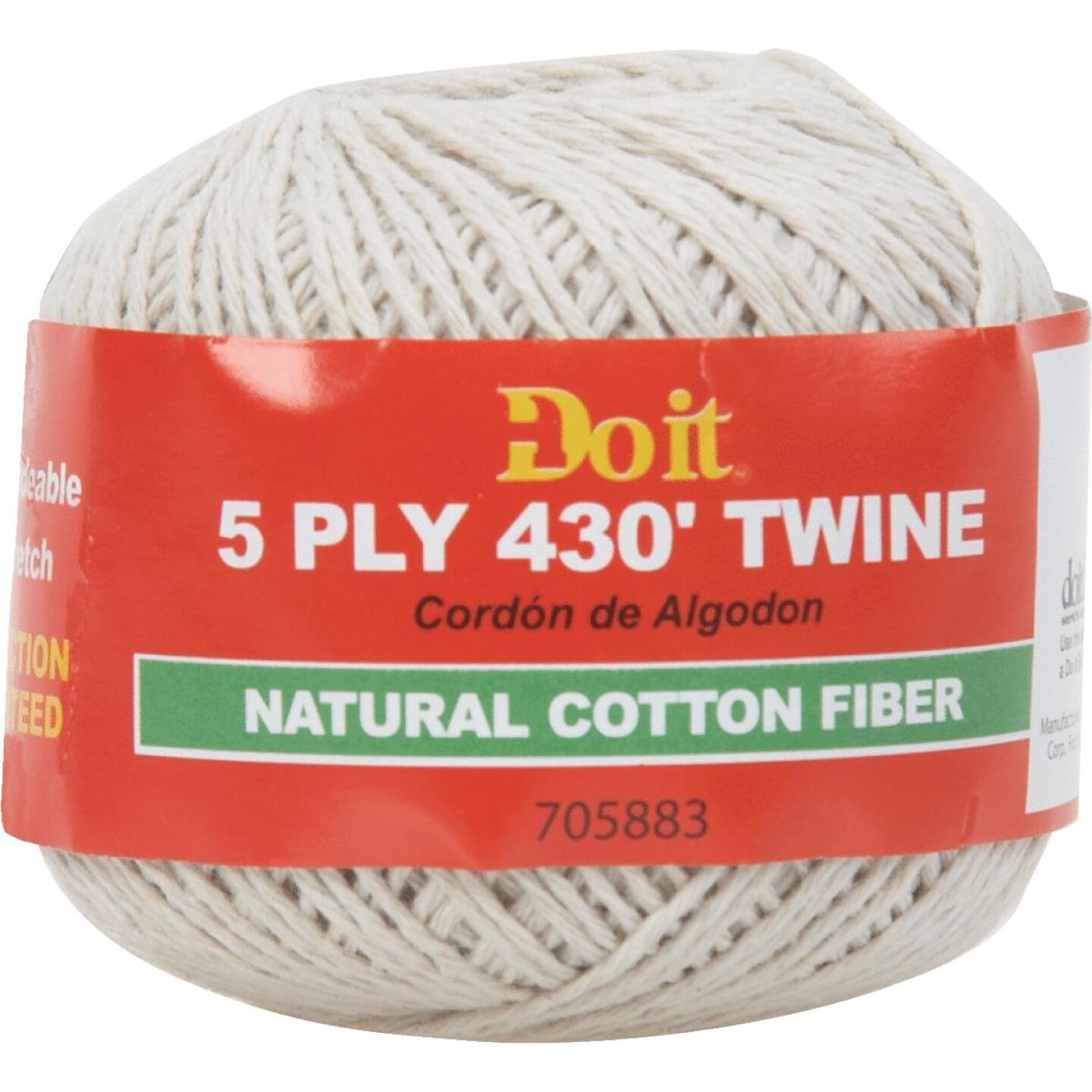 Do it 5-Ply x 430 Ft. Natural Cotton Twine Image 1