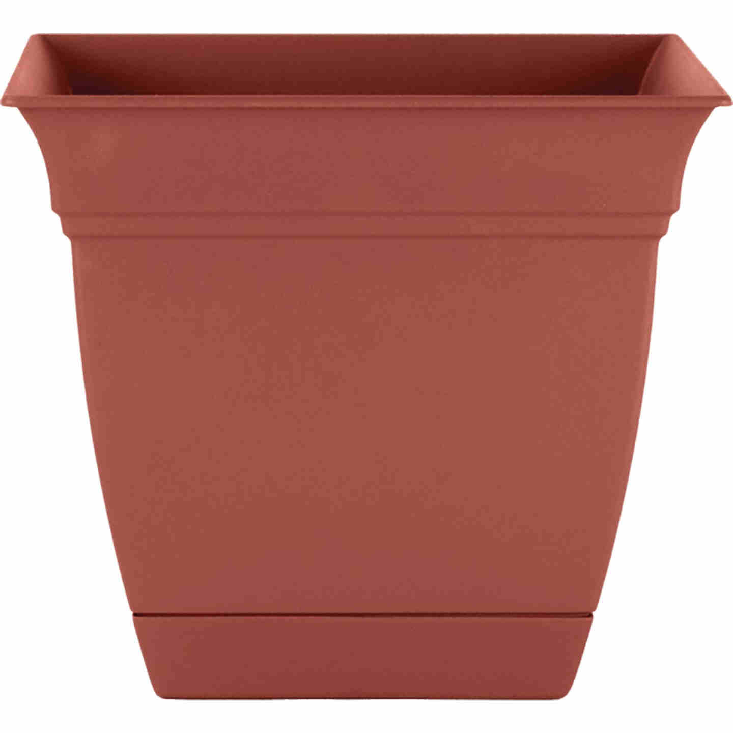 HC Companies Eclipse 8 In. x 8 In. x 7 In. Resin Clay Planter Image 1