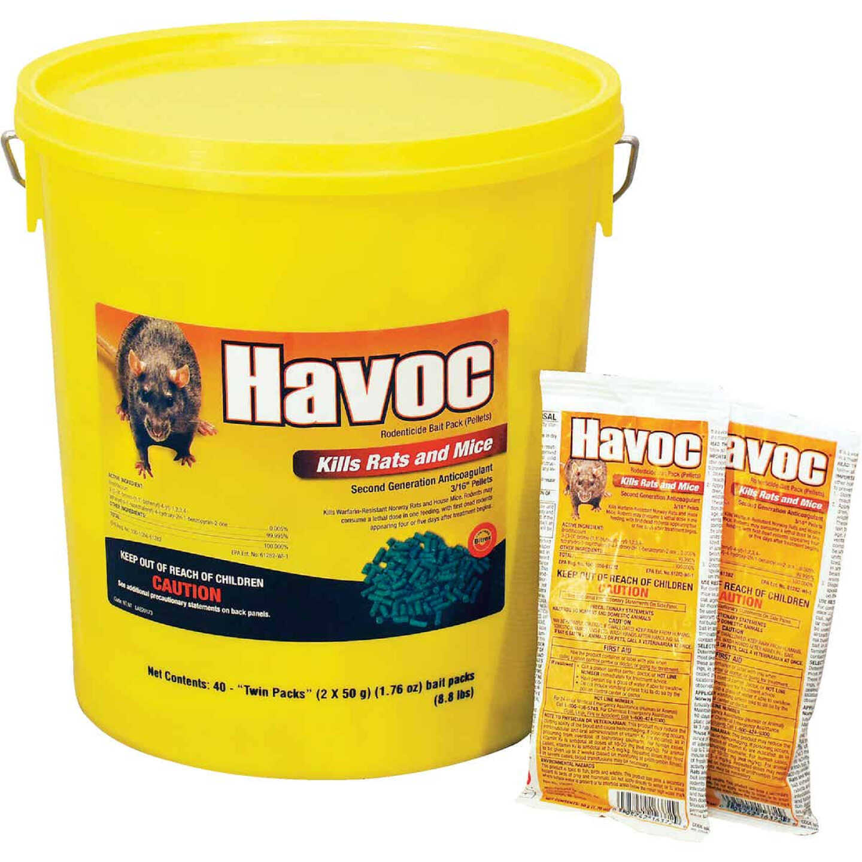 Havoc Pellet Bait Pack Rat And Mouse Poison (40-Pack) Image 1
