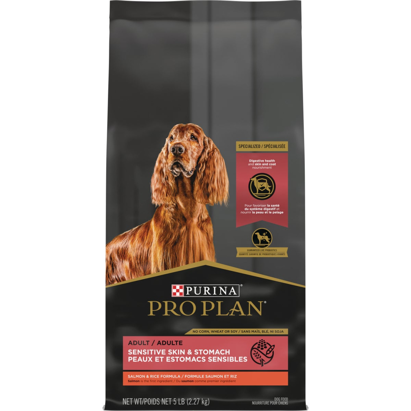 Purina Pro Plan Sensitive Skin & Stomach 6 Lb. Salmon & Rice Flavor Adult Dry Dog Food Image 1