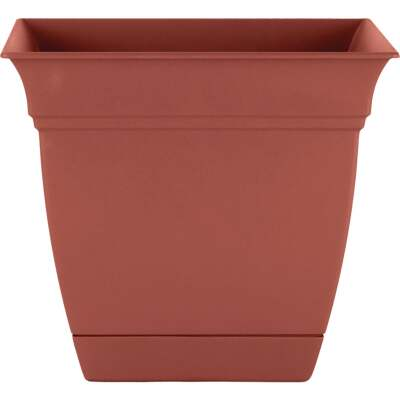 HC Companies Eclipse 12 In. x 12 In. x 10.50 In. Resin Clay Planter