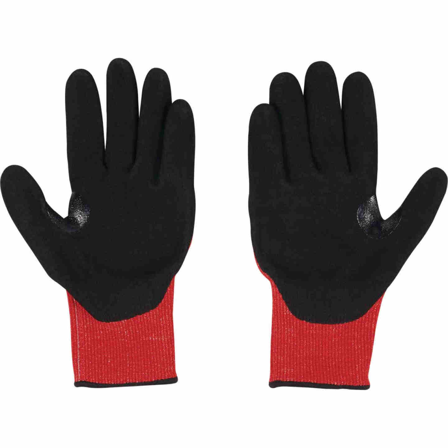 Milwaukee Impact Cut Level 3 XL Men's Nitrile Dipped Work Gloves Image 1
