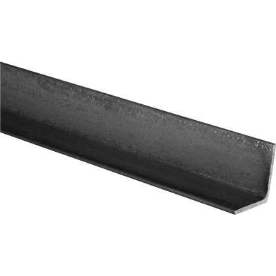 HILLMAN Steelworks Plain 1 In. x 3 Ft., 1/8 In. Weldable Solid Angle