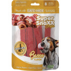 Healthy Chews Super SnaXX Strips Bacon Dog Treat (8-Pack) Image 1