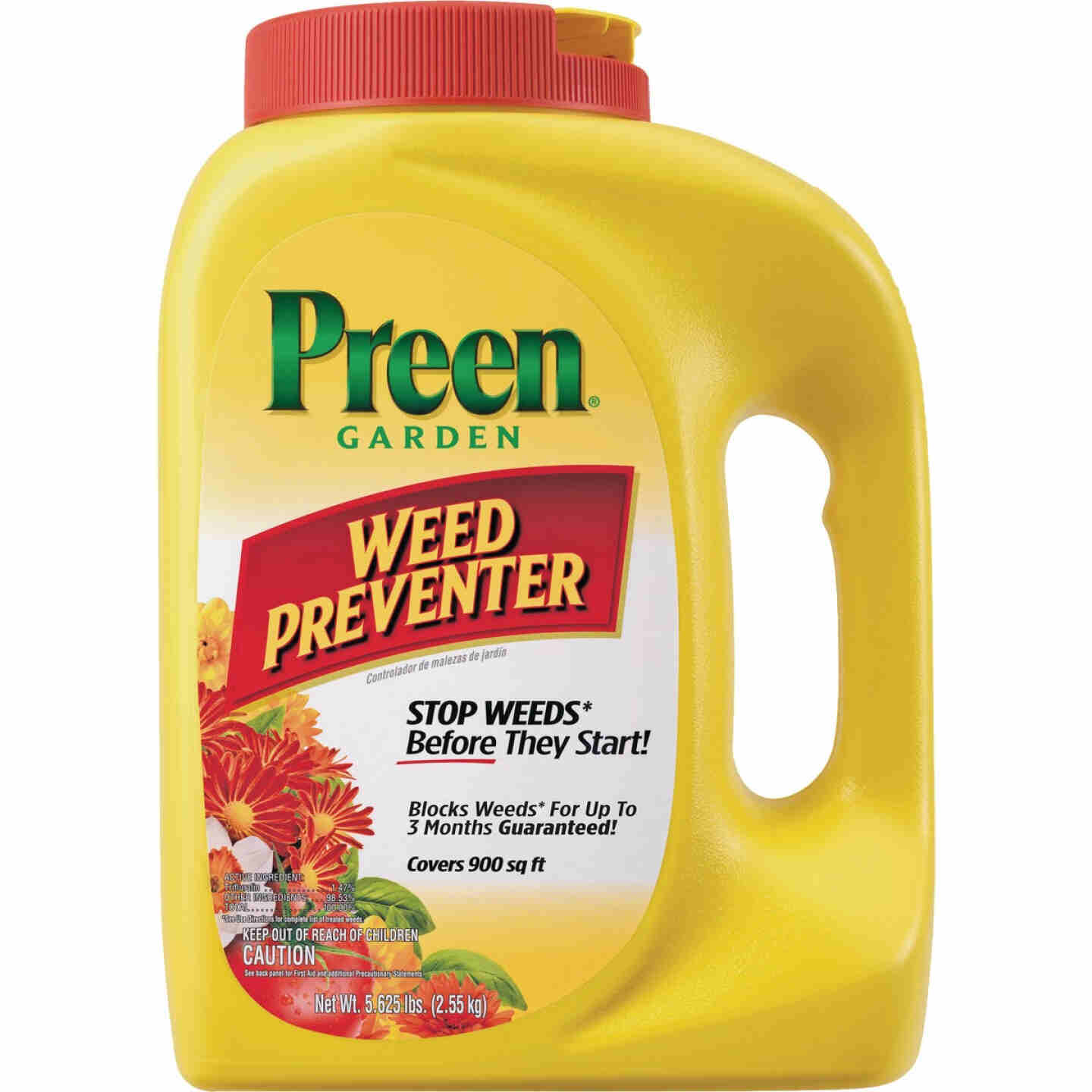 Preen 5.625 Lb. Ready To Use Granules Garden Weed Preventer Image 1