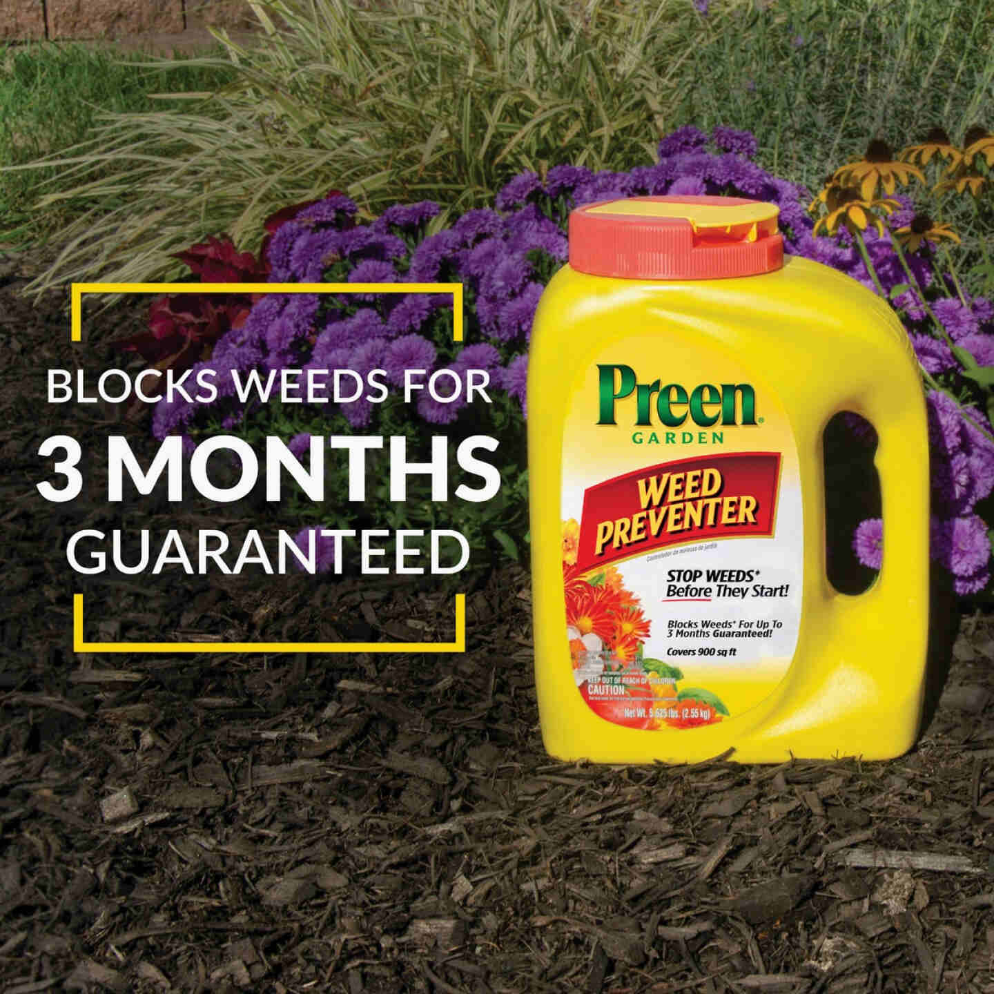 Preen 5.625 Lb. Ready To Use Granules Garden Weed Preventer Image 8